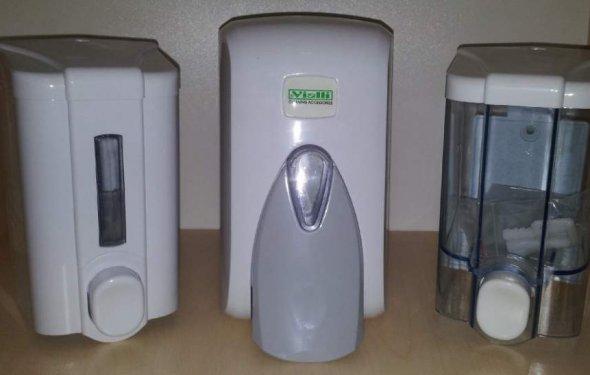 Диспенсеры для жидкого мыла в