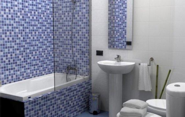 Отделка ванной комнаты,санузла