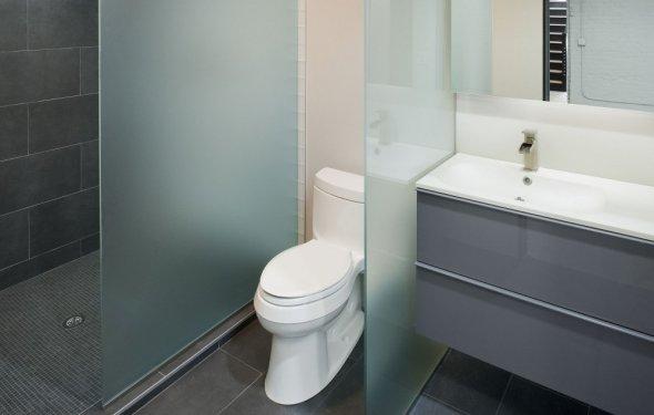 Перегородка в ванной комнате4