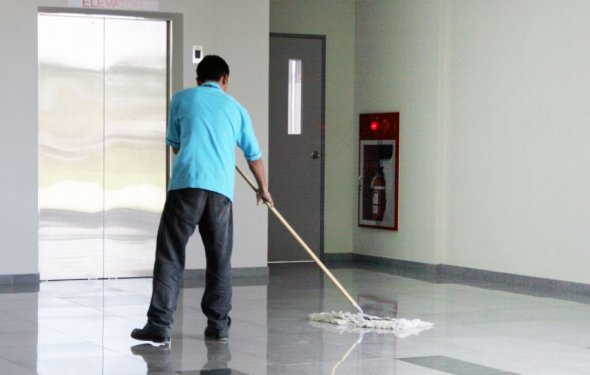 Утренняя уборка офисов