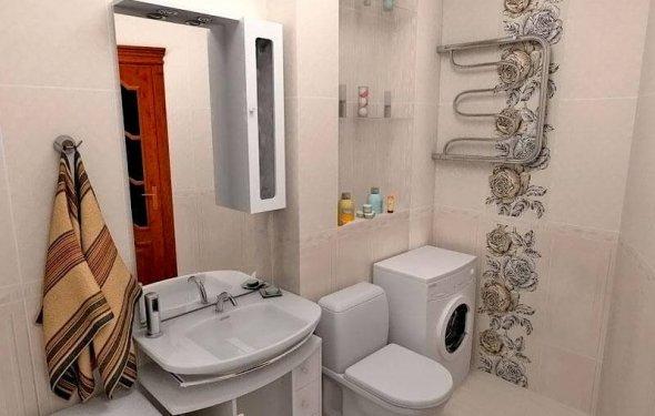 Ванная 2 кв м дизайн с туалетом